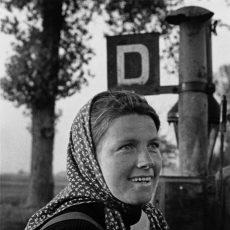 Portrait d'une jeune agricultrice alsacienne