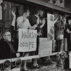Événements de mai-juin 68. Grève, occupation des Galeries Lafayette