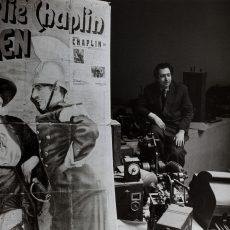 Henri Langlois (1914-1977), ancien directeur de la cinémathèque française