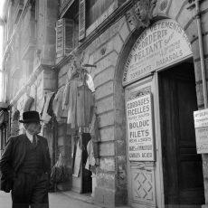 Scène de rue à Bordeaux