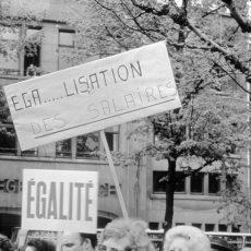 Grèves à l'usine d'armement Herstal pour l'égalité des salaires hommes femmes