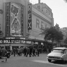Cinéma le Rex. Début du rock and roll