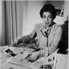 Françoise Giroud (1916-2003), journaliste, écrivain et femme politique française