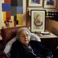 Sonia Delaunay (1885-1979), peintre française
